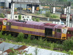 Pink 60004 Toton 08/06/2013 (37686) Tags: 5 66 class type tug 60 midlands ews toton railfreight dbschenker