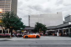 Center of Attention (a7xbass94) Tags: street orange black saint sport st bar louis cafe downtown top clayton convertible grand super spot off missouri napoli 164 bugatti veyron vitesse supersport
