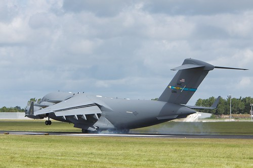 Boeing C-17A has arrived