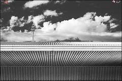 In the cloud - p365jvr - 17 de junio de 2013. 168/365 (Javier Vegas (Alias El Vegas)) Tags: vegas roof bus clouds nikon streetphotography nubes 17 06 busstation techo 168 lineas palencia d90 uralita 2013 estacindeautobus p365jvr