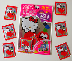 ooh good, another new Hello Kitty sticker collection by Panini! (Jay Tilston) Tags: hello sticker album kitty panini