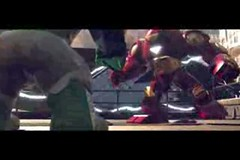 Lego Hulbuster Iron Man Suit (Luigi Fan) Tags: man game video iron lego suit superheroes marvel hulkbuster