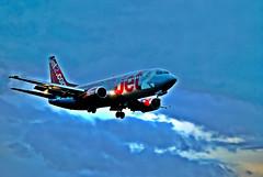 Jet2 Boeing 737-330 (maccate) Tags: west airport bradford yorkshire leeds boeing jet2 lba 737330 egnm gcelj