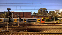 Approaching Sydney Central
