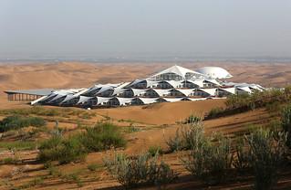 【焦点大图】沙漠之莲-中国的响沙湾度假村