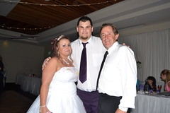 Amy and Mark with Uncle Tom (dorofofoto) Tags: tom amy mark niece nephew brotherinlaw campbelltown views100 views200 views75 campbelltowncatholicclub markandamyswedding 10092013