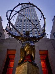 Atlas in Rockefeller Center