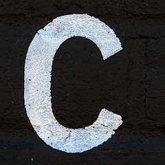 letter C (Leo Reynolds) Tags: canon eos c 7d letter ccc f80 oneletter 65mm iso500 0008sec hpexif grouponeletter xsquarex xleol30x