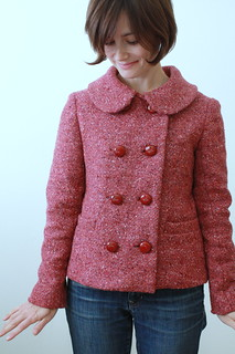 Anise jacket in tweed