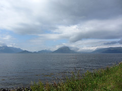 (helena.e) Tags: cloud mountain water berg norway norge moln sulesund helenae