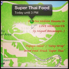 | no.74 | | Thai Street Food Truck | (onemillionreasonstolovevancouver) Tags: world city people food tourism home promotion vancouver cool realestate profile today streetfood thaifood l4l vancity downtownvancouver metrovancouver onemillion cityofvancouver vancouverite vancouvercity vancouvertourism vancouverrealestate vanone awesomevancouver instaphoto instagood instafollow uploaded:by=flickrmobile flickriosapp:filter=nofilter miguelboccanegra thegreatervancouverarea