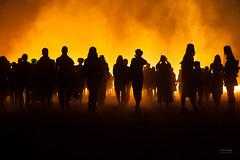 Burning Man - Children of the Burn (sadaiche (Peter Franc)) Tags: people usa festival fire nevada burningman burn bonfire 2013 burningman2013