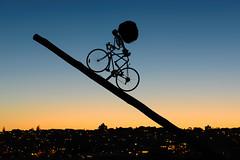 Riding into the Sunset (Rodney Campbell) Tags: sunset australia newsouthwales sculptures sculpturesbythesea tamarama