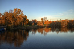 Flckiger See (chris_freiburg) Tags: park autumn trees sun lake reflection tree leave leaves see laub herbst freiburg sonne bltter reflexion bume garten spiegelung baum flckigersee flckiger seepark spiegeln seeparkfreiburg flckigerseepark landesgartenschau1986
