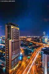 colourful urban (azirull amin aripin) Tags: city urban colour night nikon asia cityscape nightscape nightshoot tokina malaysia getty kualalumpur gettyimage d90 leadingline nightcityscape tokina1116 azirull vision:outdoor=0824 vision:sky=0844 vision:dark=0748
