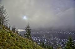 Skodda i Odda (Terje Lgreid) Tags: blue sky nature shop clouds canon psp eos paint dynamic himmel sigma pro 20mm range hdr skyer 6d bl photomatix odda 24105mm