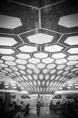 Abu Dhabi (BenSG) Tags: blackandwhite bw airport bn abu dhabi