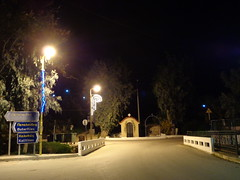 (Psinthos.Net) Tags: bridge night ornaments christmasornaments saintnicolas  vrisi psinthos         santanicolas