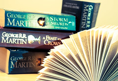 A Game Of Books (Edward Langley) Tags: house game reading book george martin pages books read series got stark thewall thrones thenorth georgerrmartin gameofthrones georgemartin agameofthrones bookpages lannister of targaryen fireandblood thenorthremembers