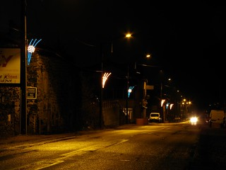 Les Baraques (43), illuminations 2011