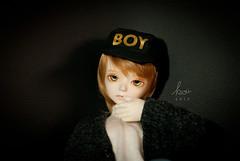 Black & Gold (_kOii_) Tags: doll kevin bjd msd bluefairy tinyfairy