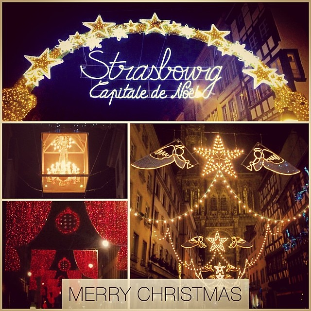 Merry christmas folks, from my hometown Strasbourg France.