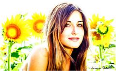 Cristina. (Lorenzo Babucci.) Tags: summer portrait people bw italy woman white black sexy girl smile look night portraits canon vintage donna model eyes nikon italia picture occhi sensuality ritratti ritratto beautifull bellezza intruder ragazza themoon labbra