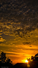 Golden Hour (DonMiller_ToGo) Tags: sky sun clouds cloudy silhouettes sunsets skyscapes hdr skycandy gf1 3xp fav5 cloudsonfire hdrphotography singleraw cloudsstormssunsetssunrises sunsetmadness sunsetsniper