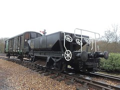 Ex London Transport Ballast Hopper. (steamie bob) Tags: isleofwight iow havenstreet pmv isleofwightsteamrailway iwsr ballasthopperwagon