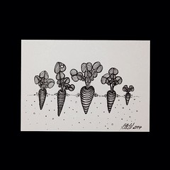 (Simone~777) Tags: atc illustration pen ink drawing doodle aceo doodles draw arttherapy doodleart zentangle