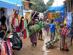 Jinka Market Streets (D-Stanley) Tags: market ethiopia jinka