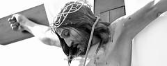 Cristo del Amparo de Saceda Trassierra (Cuenca) (Carlos Gonzlez Lpez (carlosfoto.es)) Tags: blancoynegro religion retratos panoramica trabajos exposiciones tematica figuracion exposicionferiahuete2011