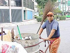 Garbage Man (billychaps) Tags: people garbage flickr human job humans garbageman