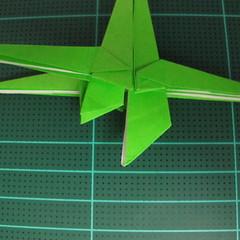 วิธีพับกระดาษเป็นจรวด X-WING สตาร์วอร์ (Origami X-WING) 035