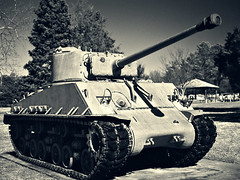 _004 (Convict J-man) Tags: army md tank fort wwii maryland 150 iso mc bronica 100 28 asa rodinal edu ultra sherman meade e8 75mm aristaedu fortmeade etrs arista etrsi etr zenza r09 fomadon zenzanon m4a3 georgeg