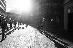 Grenoble Street (Mi-crobe) Tags: street blackandwhite grenoble town noiretblanc highkey rue lowkey rues ville urbain rhnealpes focusgrenoble paqscalerousseau