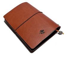 Aniki Geographica Travellers Notebook Cognac (ALI IKIZKAYA) Tags: notebook aniki