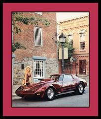 "'77 Chevrolet Corvette Show Car, 1986 (Cosmo's ""ART"" Gallery) Tags: chevrolet babe chevy 1986 1977 corvette customcar showcar"