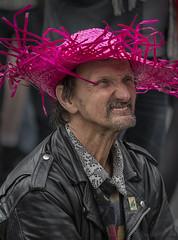 Red hat (jefvandenhoute) Tags: brussels photoshop nikon belgium belgique belgië bruxelles brussel d800 2013 nikond800 lesbiangaypride photoshopcs6 lesbiangayparade