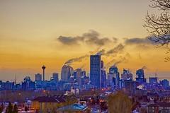 Cold Sunset (John Andersen (JPAndersen images)) Tags: longexposure sunset calgary skyline canon6d canonef2470f28iiusm