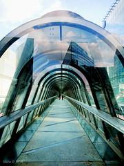 La Dfense (Bts) Tags: paris architecture panasonic pont dfense gomtrique gx7