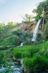 Rifle Falls (Stephen Hennessey) Tags: green water beautiful beauty landscape landscapes waterfall colorado rifle cc co landschaft attribution riflefallsstatepark