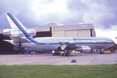 Eastern Airlines DC-10-30; N391EA, August 1985 (Aero Icarus) Tags: plane aircraft flugzeug avion dc10 slidescan trijet easternairlines dc1030 n391ea