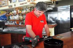 Sakis (RobW_) Tags: may greece technician friday zakynthos sakis 2014 freddiesbar tsilivi may2014 09may2014