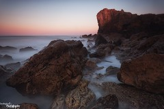 In Shadow (Dave Brightwell) Tags: light sunset seascape canon photography rocks cliffs northeast southshields hitech trowpoint bwnd davebrightwell