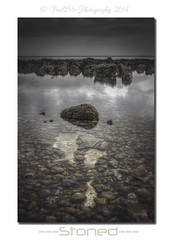 Stoned (Fred255 Photography) Tags: uk longexposure sea england seascape water rock canon raw stones l 1ds ef gp manfrotto saltdean haida waterscapes eos1ds markiii llens greatphotographers ef1740mmf4lusm ef1740mm nd1000 1dsmk3 canoneos1dsmarkiii 1ds3 leeholder greaterphotographers ©fred255photography2014