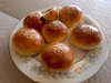 Char Siew Buns (angelina_koh) Tags: homecooked buns bread sesameseeds delicious food yummy pastry gourmet breadrolls