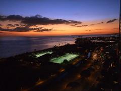 February Twilight (colleeninhawaii) Tags: ocean sunset urban hawaii twilight oahu honolulu