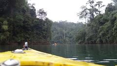 Kayaking to Meet Rebecca (m.gifford) Tags: park vacation thailand asia rebecca khaosok khaosoknationalpark