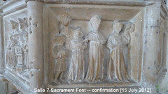 2012 Jul 15 Salle 15c 7-Sacrament font, Confirmation (dalevreed) Tags: lowcontrast infocus highquality england2012